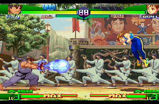 Screenshot Thumbnail / Media File 1 for Street Fighter Alpha 3 [NTSC-U]